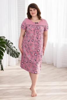 Розовая ночная сорочка Шарлиз
