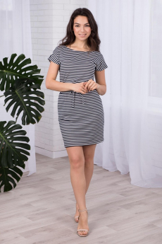 Платье в полоску Шарлиз