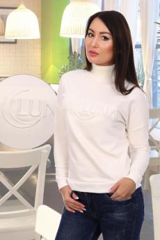 Лалуна джемпер женский молочный Натали