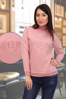 Лалуна джемпер женский розовый Натали