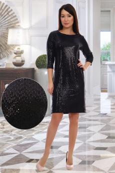 10314 Платье женское черный Натали
